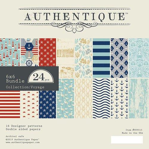 Authentique-Voyage 6x6 Paper Pad