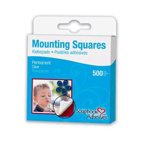 Scrapbook Adhesives- 500pc Mounting Squares