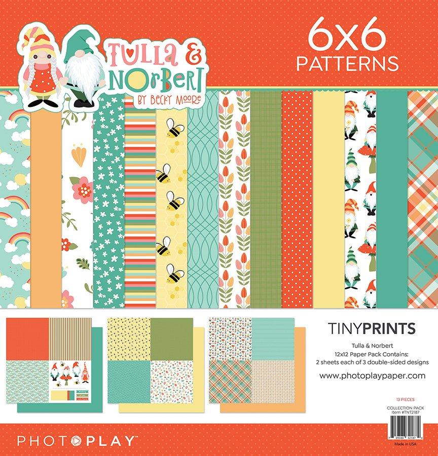 Photo Play - Tulla & Norbert Tiny Prints Paper Pack