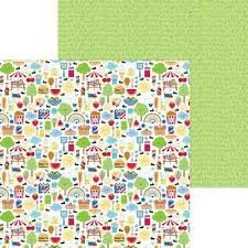 Doodlebug Design - Bar-B-Cute 12x12 Paper