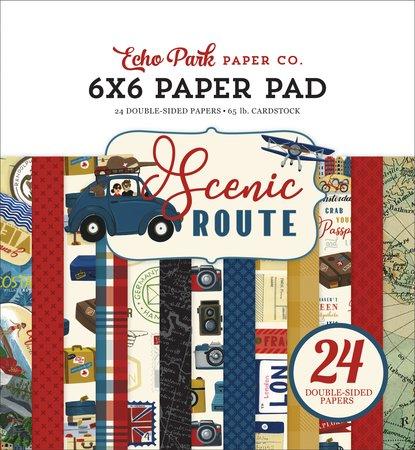 Echo Park- Scenic Routs 6x6 Paper Pad