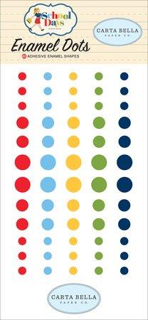 Carta Bella - School Days Enamel Dots