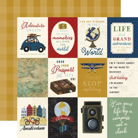 Echo Park - Scenic Route 3x4 Journaling Cards
