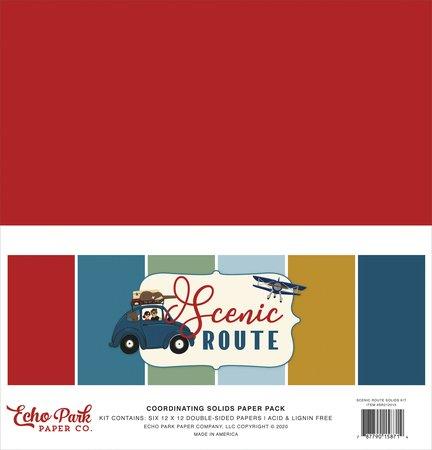 Echo Park - Scenic Route Solids Kit