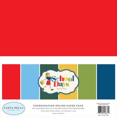 Carta Bella - School Days Solids Kit