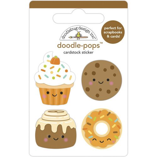 Doodlebug - Fall Treats Doodle-Pops