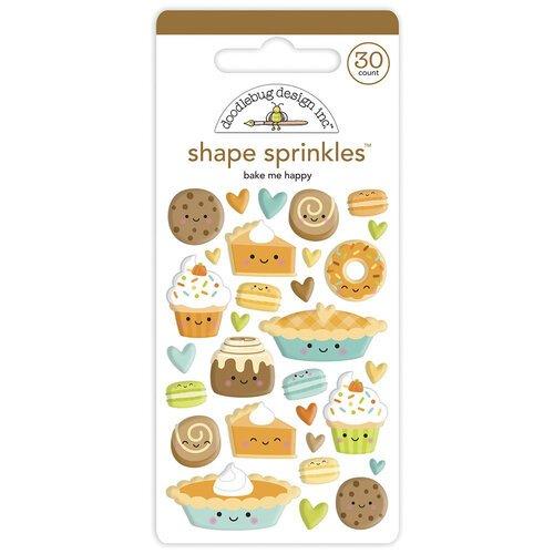 Doodlebug - Bake me Happy Shape Sprinkles