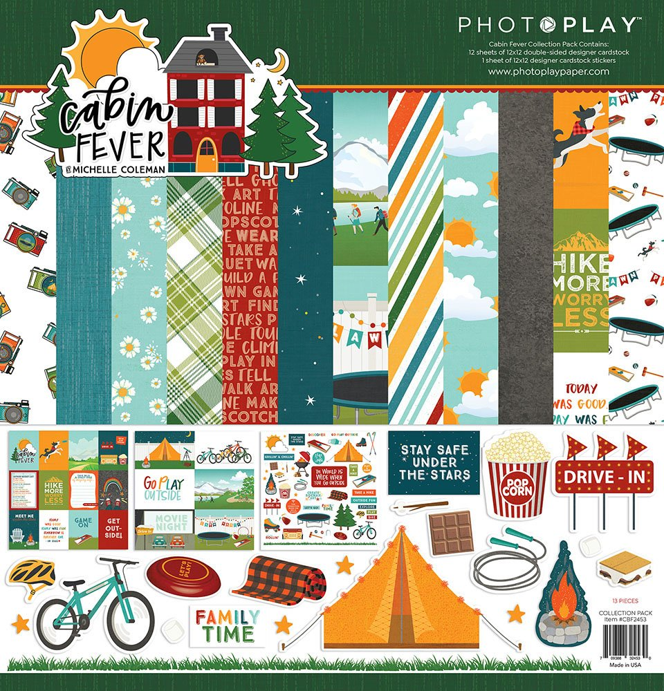 Photo Play - Cabin Fever Collection Pack