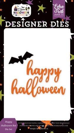 Echo Park - Happy Halloween Bat Die Set