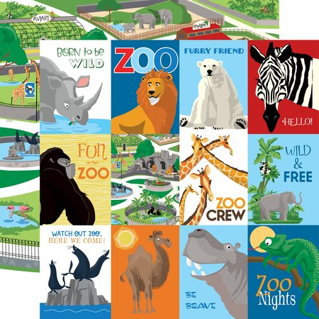 Carta Bella - Zoo Adventure 3x4 Journaling Cards