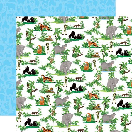 Carta Bella - Zoo Adventure Jungle Animals 12x12 Paper