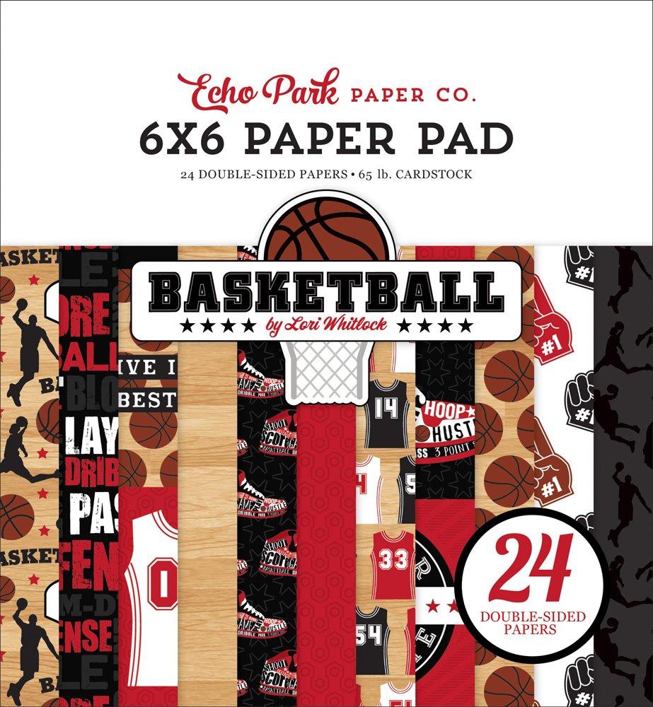 Echo Park - Basketball 6x6 Paper Pad