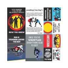Reminisce - Wrestling Die Cut Stickers 12x12