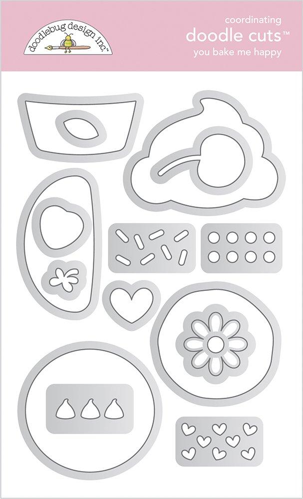Doodlebug - You Bake Me Happy Doodle Cuts
