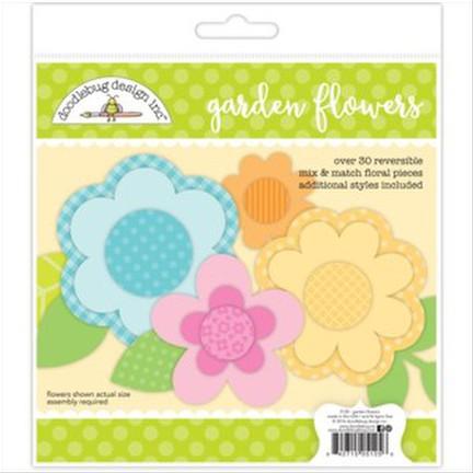Doodlebug-Garden Flowers - Craft Kit