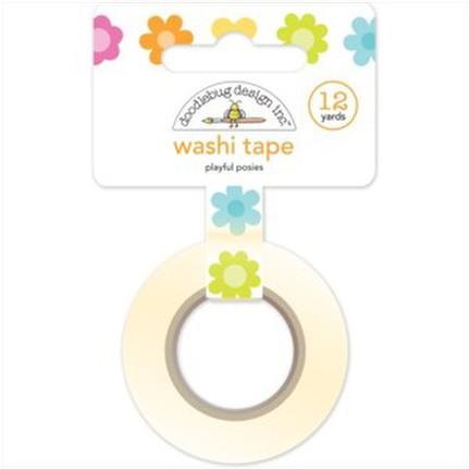 Doodlebug - Playful Posies Washi Tape