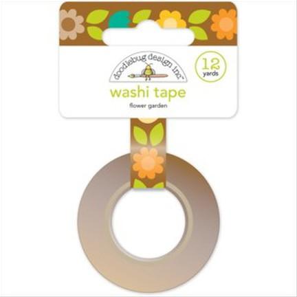 Doodlebug - Flower Garden Washi Tape