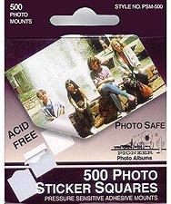 Pioneer-Photo Mounts - 500 Self-Stick Tabs