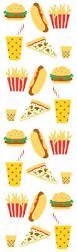 Mrs.Grossman's - Fast Food Roll Stickers