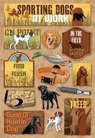 Karen Foster - Sporting Dogs Stickers