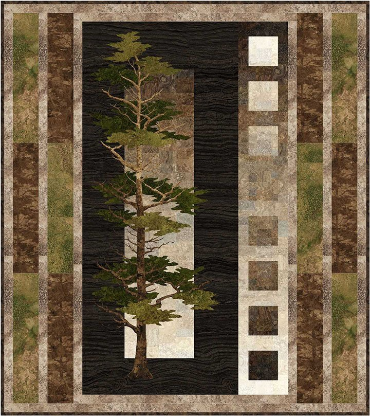 Bayou Patch Designs - Majestic Pines Quilt Pattern