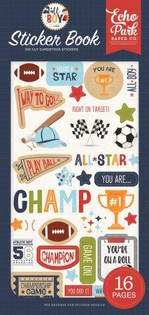 Echo Park - All Boy Adhesive Sticker Book