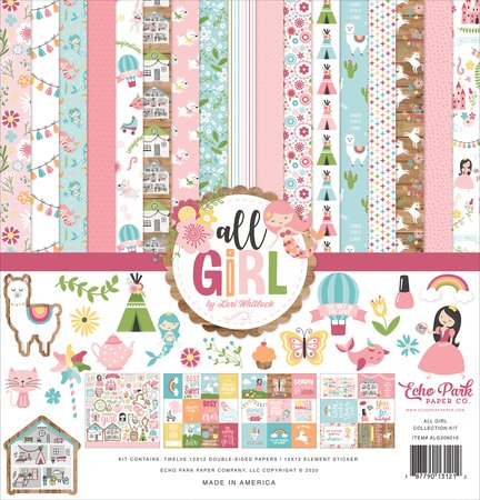 Echo Park - All Girl Collection Kit