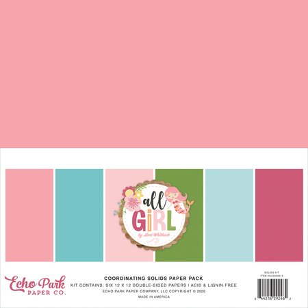 Echo Park - All Girl Solids Collection Kit
