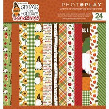 Photo Play - Gnome for the Holidays Thanksgiving 6x6 Paper Pad