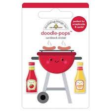 Doodlebug Design - Bar-B-Cue Doodle-Pop