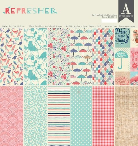 Authentique Refreshed Collection Paper Pad 12x12