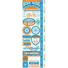Reminisce Biking Combo Sticker