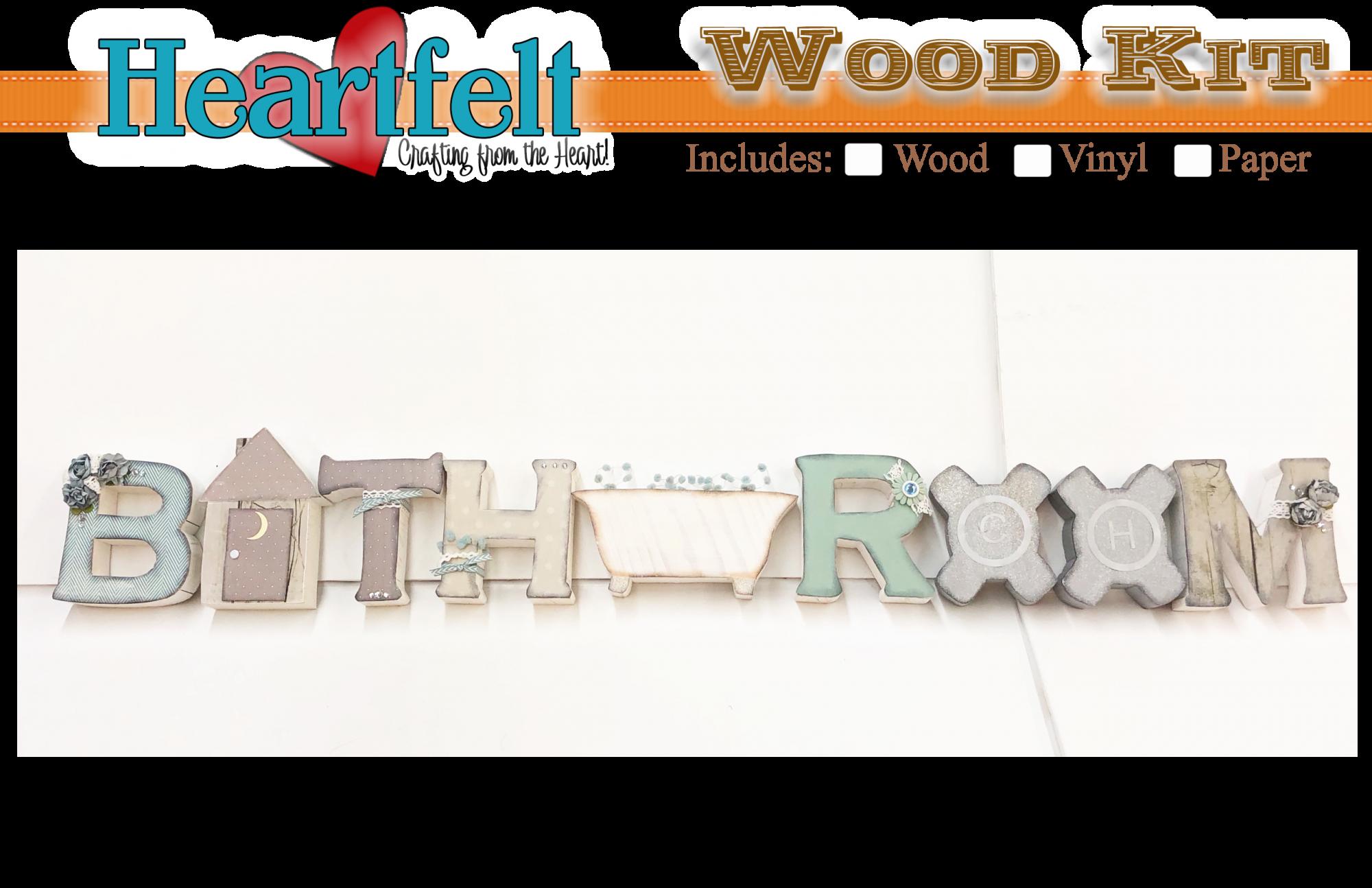 Bathroom Wood/paper