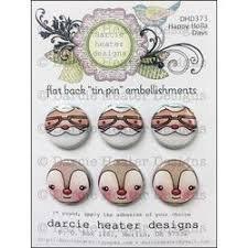 Darcie's Happy Holla Days Tin Pin