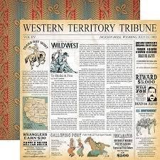 Carta Bella - Cowboy Country Western Territory 12x12 Paper