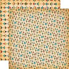 Carta Bella - Cowboy Country Teepees 12x12 paper