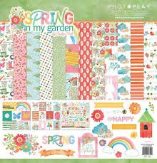 Photo Play Spring in my Garden Collection Kit 12x12