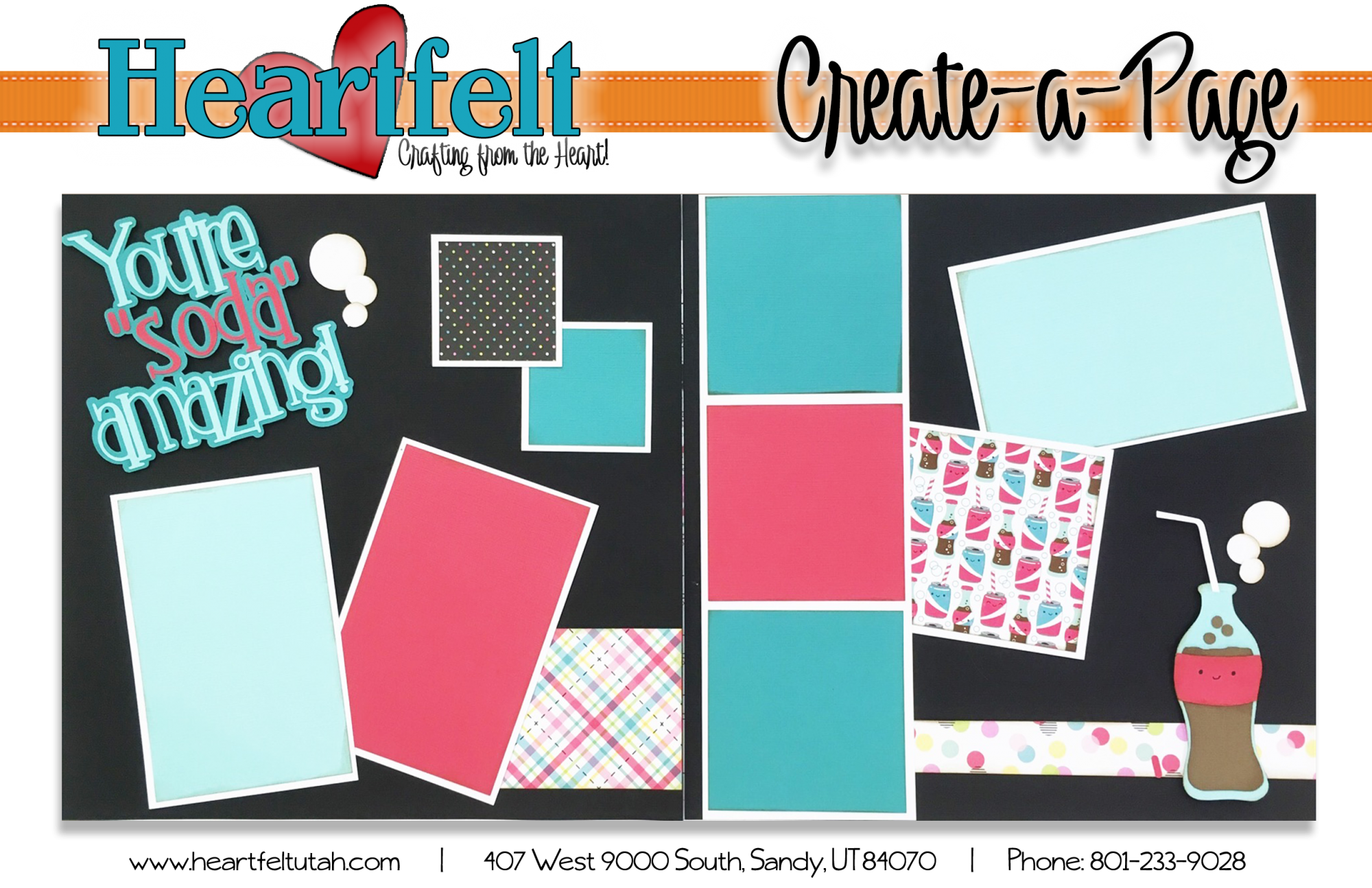May 2018 page kit release (You're soda Amazing)