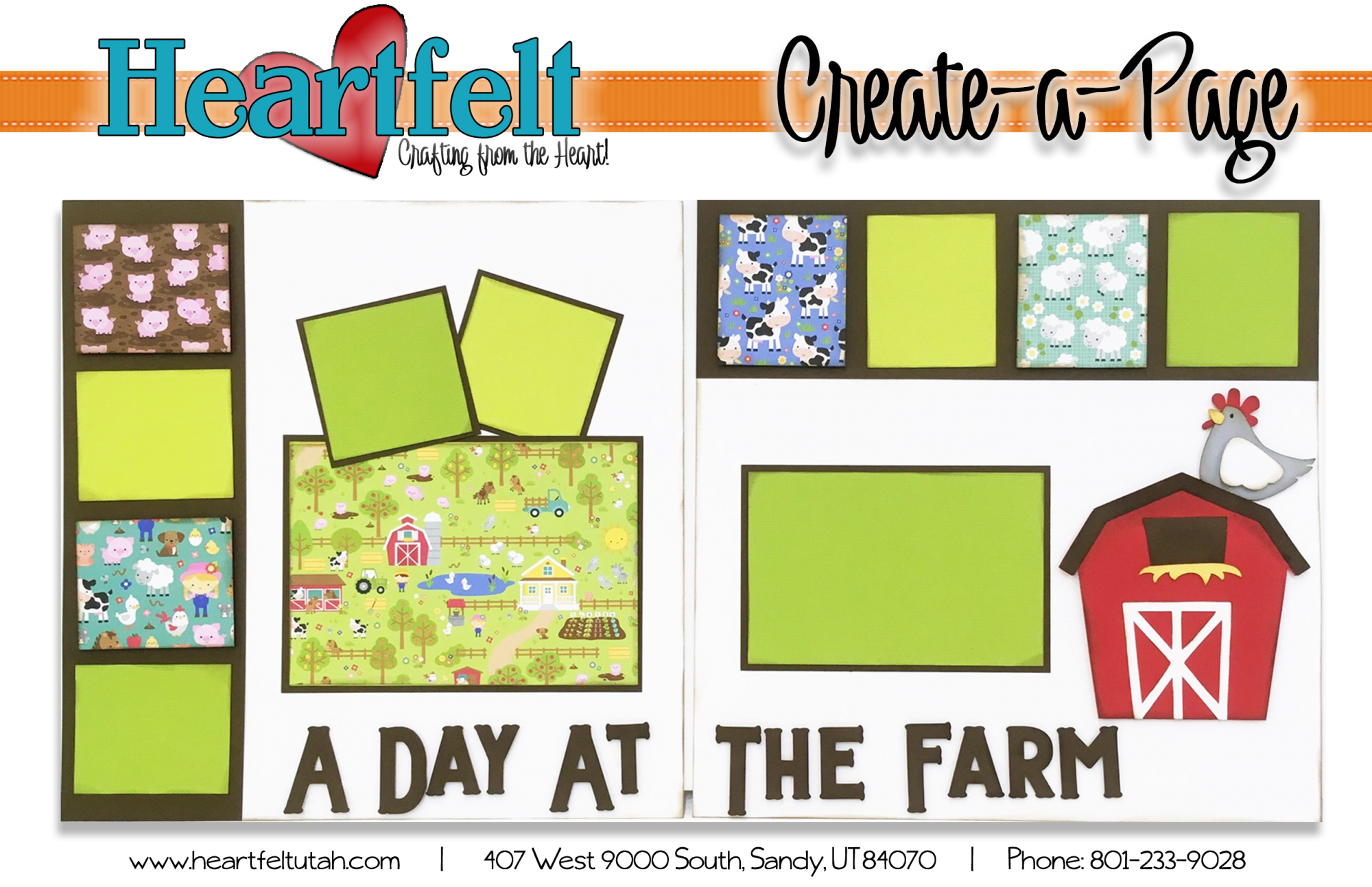 A Day at the Farm Page Kit