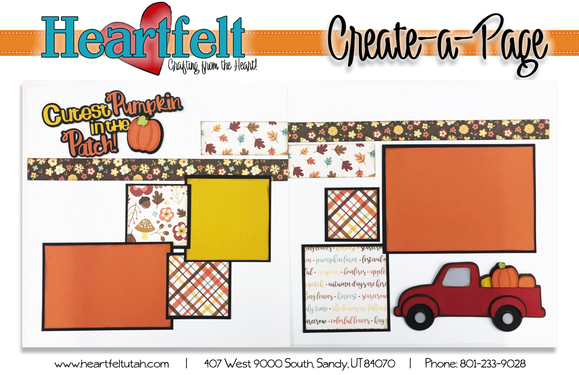 Cutest Little Pumpkin Page Kit