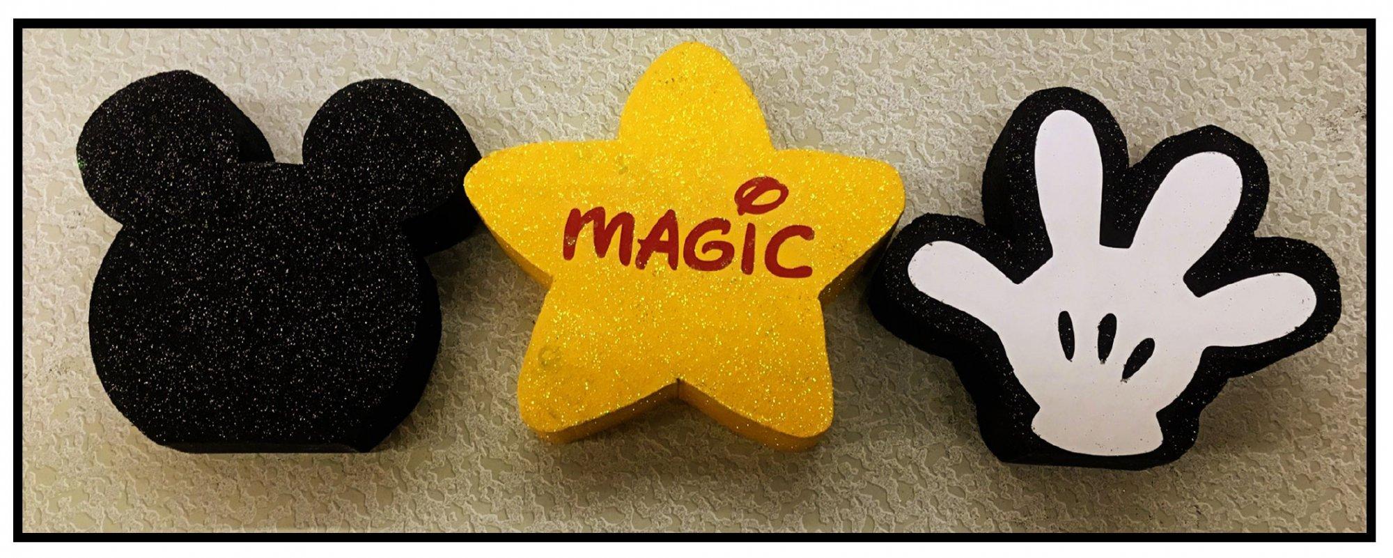 Disney Shapes - Magic w/vinyl