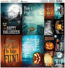 Reminisce - Pumpkin Hallow 12x12 Die Cut Stickers