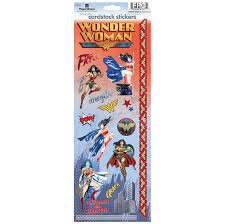 Paper House - Wonder Woman Cardstock Stickers