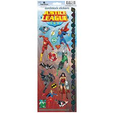 Paper House - Justice League Cardstock Stickers
