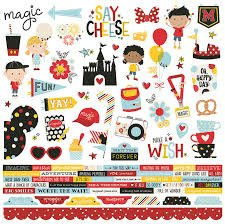 Simple Stories - Say Cheese 4 Combo Die Cut Stickers 12x12