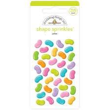 Doodlebug - Jellies Shape Sprinkles