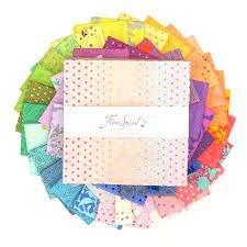 Freespirit Fabrics - Tula's True Colors 10 Charm Pack