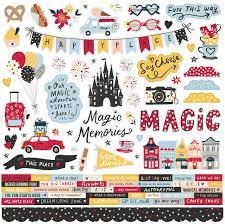 Simple Stories - Say Cheese Main Street Cardstock Stickers 12x12