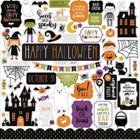Echo Park - Halloween Magic Element Stickers 12x12