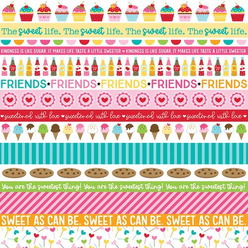 Bella Blvd. - My Candy Girl Borders 12x12 Paper